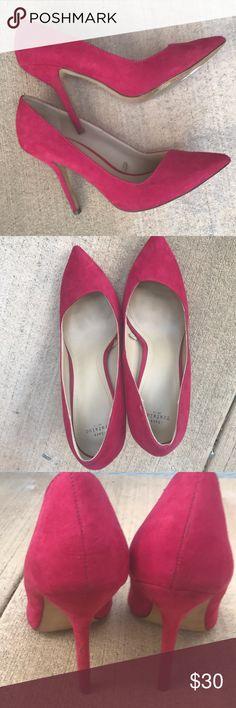 Zara heels Pink heels Zara Shoes Heels