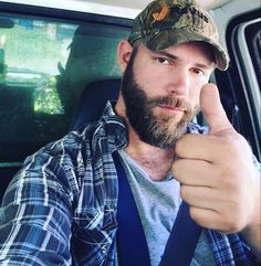 A potential 'Redneck' style costume for a guy - denims, boots, t-shirt, plaid shirt, baseball cap and awesome full beard. Option A - grow the full beard over 6-8 weeks or Option B - have a false but very convincing moustache and full beard custom made.