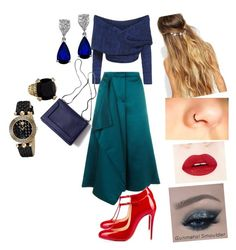 """""""Untitled #6"""" by pooja-sharma on Polyvore featuring interior, interiors, interior design, home, home decor, interior decorating, TIBI, Christian Louboutin, 3.1 Phillip Lim and Johnny Loves Rosie"""