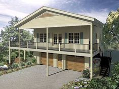 garage plans Garage Apartment Plan with Storm Shelter Above Garage Apartment, Garage Apartment Plans, Garage Apartments, Garage Renovation, Garage Remodel, The Plan, How To Plan, Small House Plans, House Floor Plans