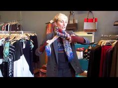 How to tie a scarf part two: DahlStyle x Shop Adorn