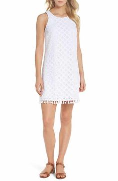 0277756255e Lilly Pulitzer® Marquette Lace Shift Dress Nordstrom Dresses