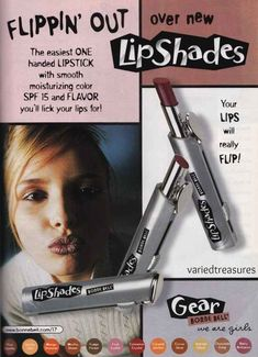 Bonnie Bell Lip Shades | 18 Beauty Product Ads From The '90s That Will Make You Feel Nostalgic