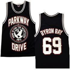 Parkway Drive Merch — Basketball Jersey
