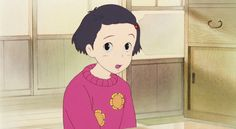 The Characters of Studio Ghibli's Only yesterday おもひでぽろぽろ (1991)