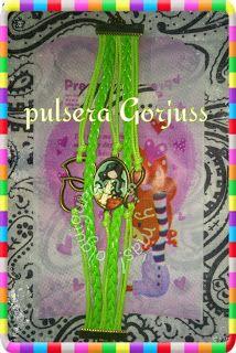 creaciones FOG: más Gorjuss en pulsera de cuero y charms