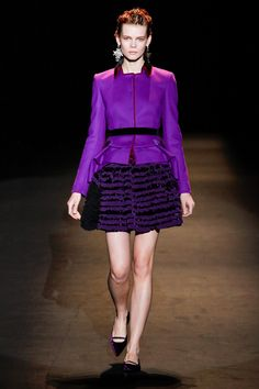 Alberta Ferretti Fall/Winter 2013 collection - Milan Fashion Week