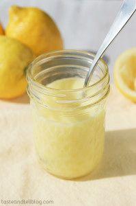 How to make Lemon Curd from www.tasteandtellblog.com