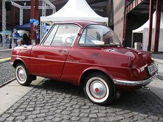 Mazda R360. This was a joint effort between Mazda, Dr. Seuss, and Mattel, never exported to the U.S., only to Whoville.