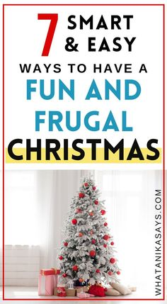 Does the holiday season necessarily mean to break your bank or can you have a frugal Christmas and enjoy this fun time of the year with family whole-heartedly? Frugal Christmas, Christmas Gifts For Kids, Christmas Presents, Christmas Decorations, Holiday Decor, Christmas Ideas, Presents For Kids, Gifted Kids, Christmas Traditions