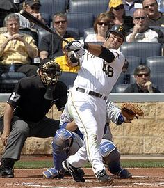 Garrett Jones - Pittsburgh Pirates He is what a baseball player should look like, HANDSOME and WOW!!!