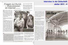 Gedanken für mein Business, die Arbeitsorganisation und den Erfolg als Aquarellist | Interview von Susanne Haun und Frank Koebsch in der Zeitschrift atelier 2011 – 4