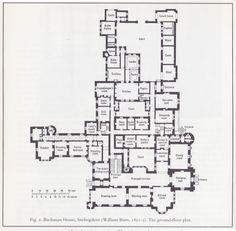 House Plans Mansion Chateaus Ideas For 2019 Castle Floor Plan, Castle House Plans, House Plans Mansion, House Floor Plans, The Plan, How To Plan, Vintage House Plans, House Layouts, Plan Design