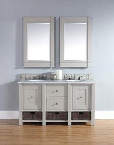 Metropolitan 72 Double Sink Bathroom Vanity Cabinet American Walnut Finish Pure White Countertop Matching Mirrors Pinterest Countertops