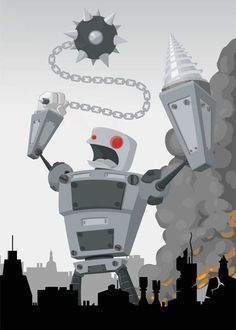 Inspiration: 20 nice examples of vector robots - Blog of Francesco Mugnai