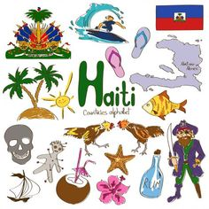 'H' is for Haiti with our next alphabetical countries worksheet! Help your child learn all about Haiti with the help of this printable. #geography #SouthAmericanCountries #Haiti
