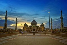 Masjid Agung An-Nur, Pekanbaru, Riau, Indonesia