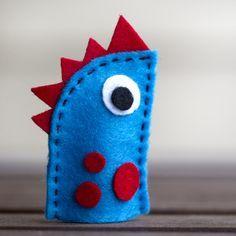 DIY: Felt Finger Puppet Monsters