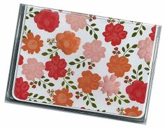 Card Case / Mini Wallet  Country Garden Pink by rabbitholeonline, $4.25