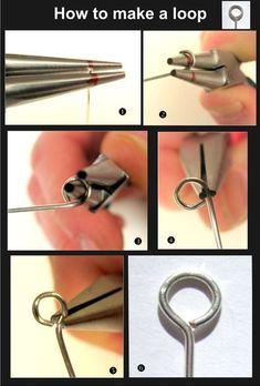 Wire Wrapped Jewelry, Wire Jewelry, Jewelry Crafts, Beaded Jewelry, Gold Jewelry, Beaded Bracelet, Jewelry Ideas, Jewelry Patterns, Jewlery