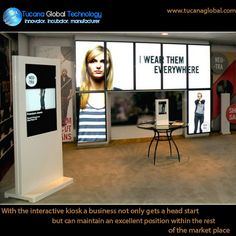 With the #interactive #kiosk a #business not only gets a head start, but can #maintain an excellent #position within the rest of the #market place. #TucanaGlobalTechnology #Manufacturer #HongKong