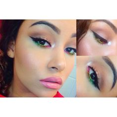 I love this look from @Sephora's #TheBeautyBoard http://gallery.sephora.com/photo/rainbows-4922