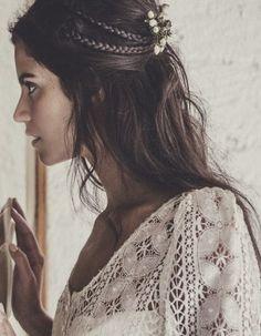 Semirecogido - Peinados de novia