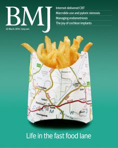 This week's issue includes research on fried food consumption and genetic predisposition to obesity http://www.bmj.com/content/348/7950