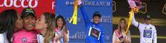 Celebramos! Colombia presente @NairoQuinCo líder del #Giro líder jóvenes y @jarredondo32 líder montaña #ForzaNairo