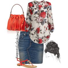Apostolic Fashions #693 by apostolicfashions on Polyvore featuring rag & bone, Milly and Chanel