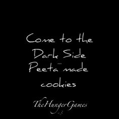 Cookies!!! The hunger games <3