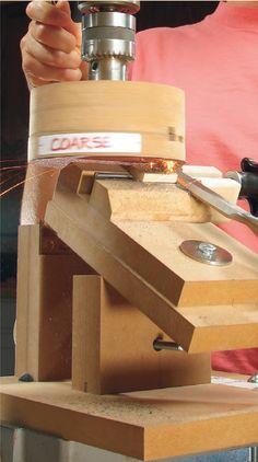 Power Sharpening System By Tom Caspar I'm crazy about sharp hand tools. When edges are perfect, these tools sing in your hands. When they're dull, you might as well hang them up. I've been looking for the ultimate sharpening system for years, one that can quickly and accurately grind and hone a perfect edge. One day I looked at my drill press and electric sander and a light bulb went …