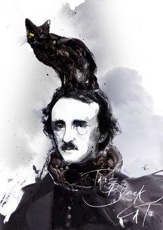 Edgar Allan Poe - The Black Cat by Zé Otavio, Sao Paulo, Brazil