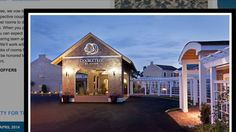 Doubletree Hyannis outdoor front lawn