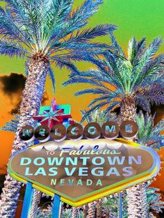"Saatchi Online Artist Toula Mavridou-Messer ""Pop Art - Fabulous Las Vegas"" #art"