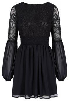 Millie Mackintosh Long Sleeve Lace Dress