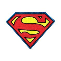 Super Man Patch Embroidered Iron on Patch Animation Movie Patches
