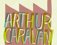Arthur Caravan + Mi Sostingut by Baptiste Pons, via Behance