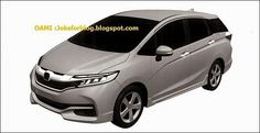 Появились изображения обновленной Honda Fit / Jazz Shuttle