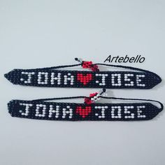 "14 Me gusta, 1 comentarios - ARTEBELLO (@artebeello) en Instagram: ""Pulseras personalizadas hecho en chaquira con cierre fácil decorado en cristal rombo. Luce y sé…"" Friendship Bracelets, Jewelry, Instagram, Fashion, Personalized Bracelets, Handmade Bracelets, So Done, Crystals, Moda"