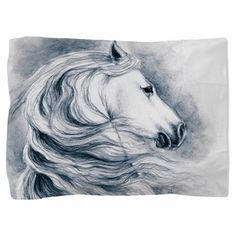 White Beauty Pillow Sham on CafePress.com