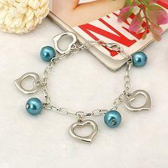 PandaHall Jewelry—Fashion Glass Pearl Bracelets with CCB Acrylic Pendants | PandaHall Beads Jewelry Blog