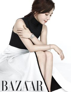 Kim Hee Ae - Harper's Bazaar Magazine October Issue Asian Celebrities, Asian Actors, Korean Actresses, Actors & Actresses, Artists And Models, Female Models, Asian Woman, Asian Girl, Nana Afterschool