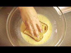 """Aprenda a fazer uma crocante """"french toast"""" - YouTube"""