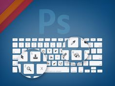 """Adobe Creative Suite Toolbar Shortcut Wallpapers [Exclusive]. Essential for beginners, nice reminders for us """"old pros."""""""