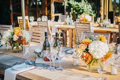 Wedding Inspiration: A Boho-Chic Wedding at Denner Vineyards - 7x7 Bay Area