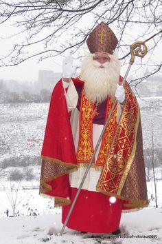Vintage Christmas Cards, Merry Christmas, Xmas, St Nicholas Day, Saint Nick, Catholic Priest, Waldorf Education, Holiday Outfits, Erika