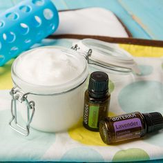 Try this do-it-yourself diaper cream recipe with Lavender essential oil that is free of irritants and is great for soothing and softening skin.