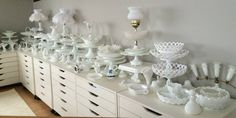 I have a group on FB called I Love Milk Glass. Please join us if you love MG!