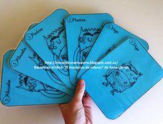 """Hoy os enseño el 3º juego de mesa adaptado del cuento """"El monstruo de colores"""" de Anna Llenas:    """"Las cartas de familias de El monstruo de ..."""